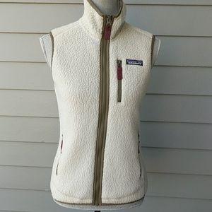 New!! Patagonia Retro Pile shearling fleece vest